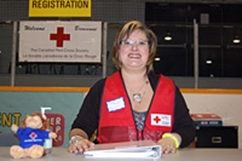 Canadian Red Cross volunteer responds to 2011 flooding in Manitoba