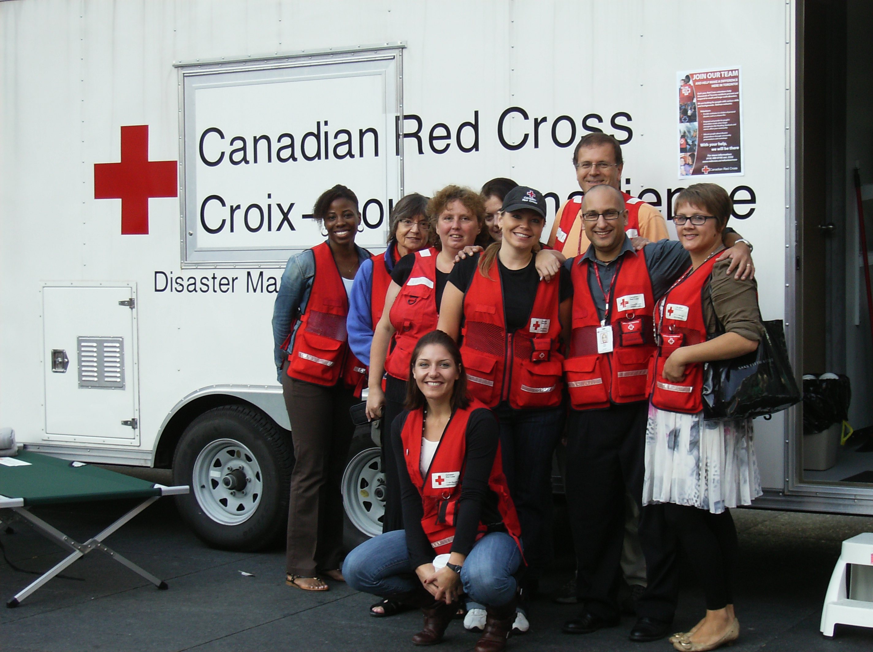 What is the value of a Red Cross volunteer? A lot - Canadian