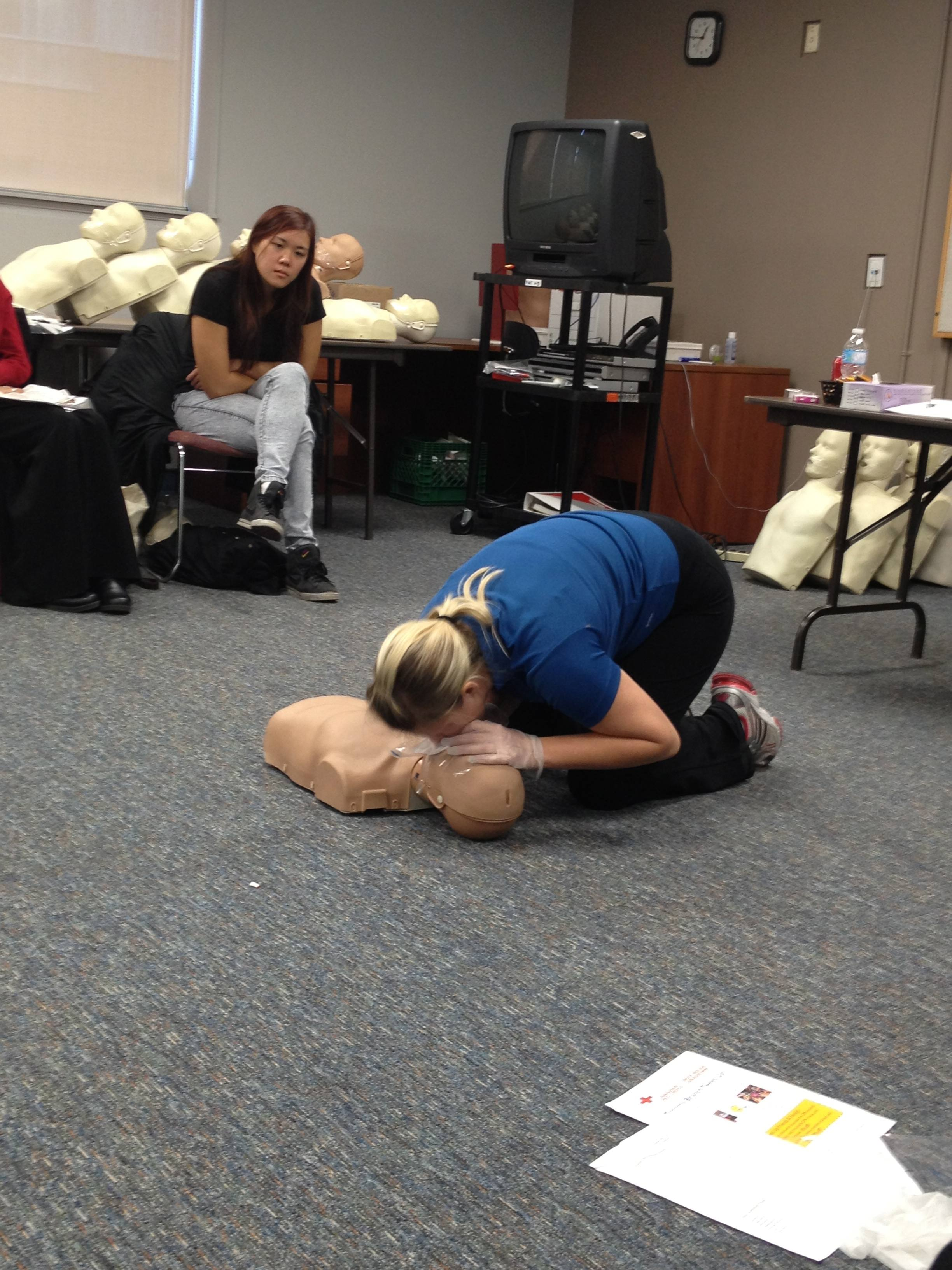 Tweeting My Way Through CPR Training at #redcrossCPR ...