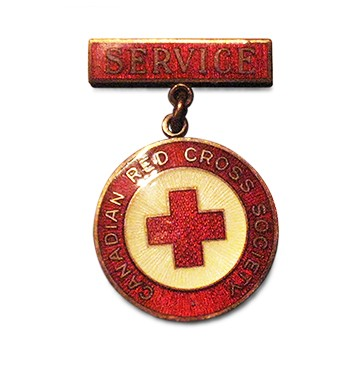 Canadian Red Cross Society Service Badge