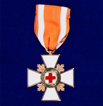 The Order of the Red Cross Pin