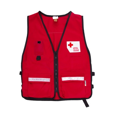 Canadian Red Cross Disaster Management Volunteer Vest