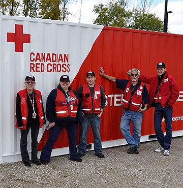 Canadian Red Cross 200-person Shelter Module