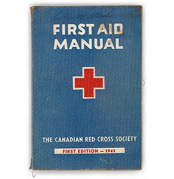 Canadian Red Cross First Aid Manual, first ed.