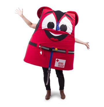 Buckles – Canadian Red Cross Water Safety Mascot