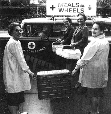 Meals on Wheels Photograph