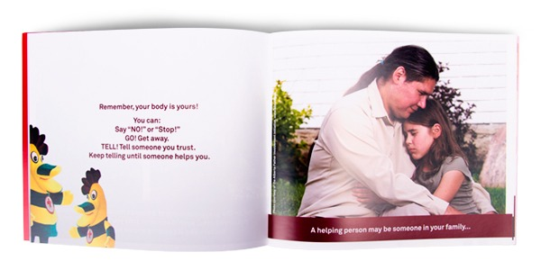 Your Body is Yours! booklet