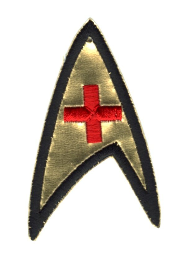 Star Trek Red Cross badge