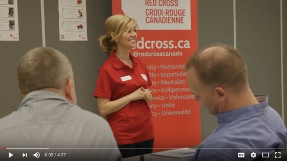 first aid instructors - canadian red cross