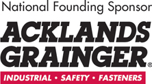 Logo of Acklands Grainger, founding partner of Red Cross program Ready When the Time Comes