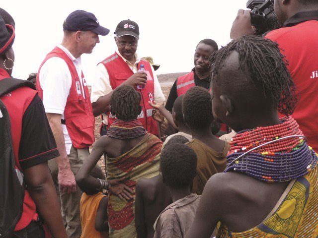 Red Cross international operations staff in Canada