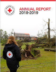 photo of front cover of annual report 2016-2017