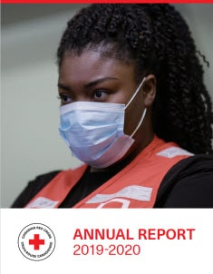 photo of front cover of annual report 2019-2020