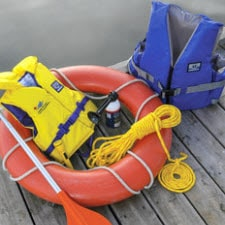 life jackets and life preserver