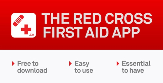 first aid app - canadian red cross