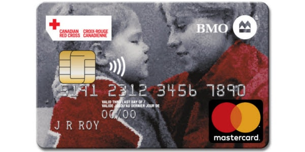 BMO Red Cross MasterCard