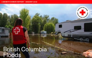 BC Floods 3-Month Donor Report