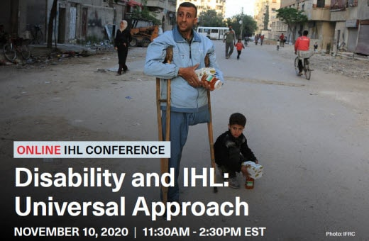 Disability and IHL Universal Approach poster