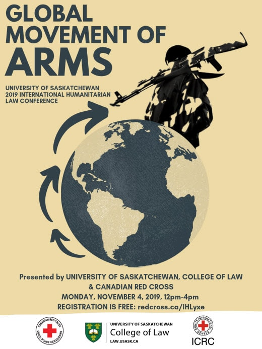 Global movement of arms conference poster