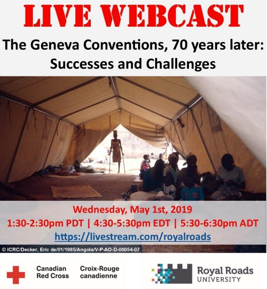 Webcast: The Geneva Conventions 70 years later