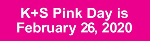 K+S Pink Day 2020 banner