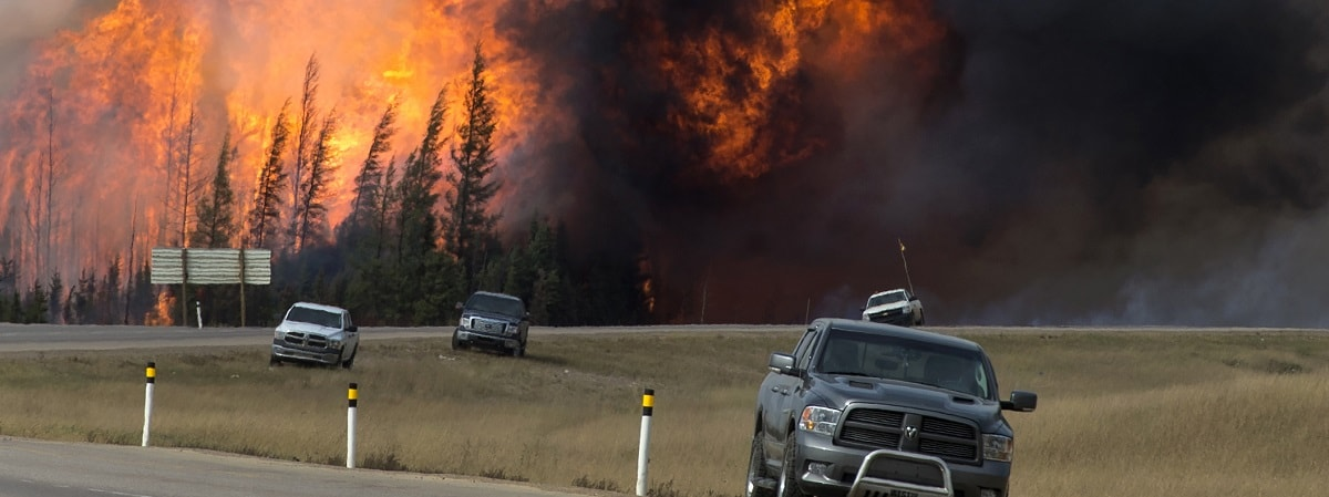 Canada heatwave: Hundreds killed in wildfires and residents forced to evacuate Wildfires-1200x450