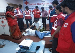 Indian Red Cross first aid training