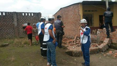 Red Cross teams assess potential need