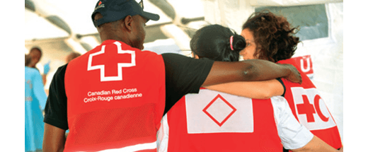Canadian Red Cross Major Donations