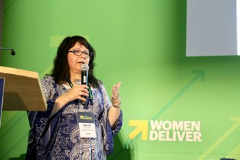 Shelley Cardinal at Women Deliver