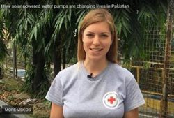 Andrea Peters, Program Officer for Afghanistan and Pakistan