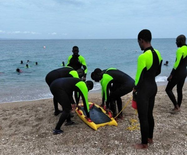 Water Rescue Training with the Haitian Red Cross Society (HRCS), September 2016.