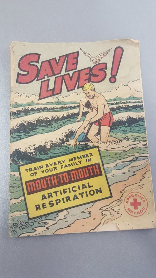 Save Lives! Comic Book