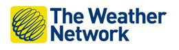 Logo of The Weather Network, Red Cross media sponsor
