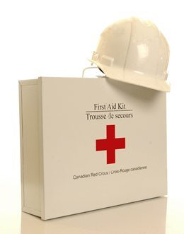 Red Cross workplace first aid kit