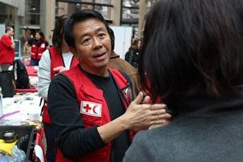 Angelo Leo, a Canadian Red Cross humanitarian from Vancouver, has helped people impacted by disasters and emergencies as far away as Nepal, Bangladesh, and the Philippines