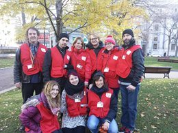 : Canadian Red Cross Street Fundraisers