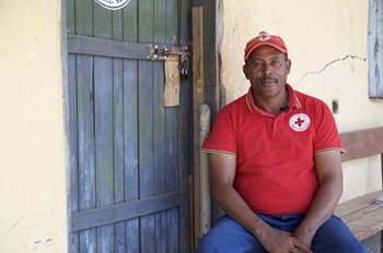 Abebe Dotamo, branch manager for Kembata-Tembaro Zone with the Ethiopian Red Cross.